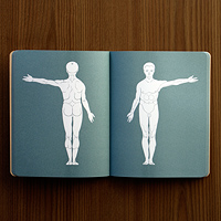 bookblock tattoo notebook